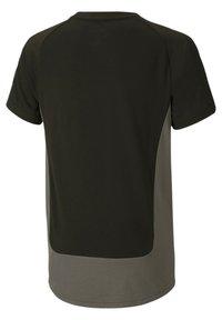 Puma - Print T-shirt - black-castlerock - 1