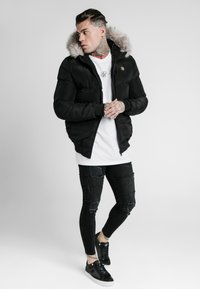 SIKSILK - DISTANCE JACKET - Winter jacket - black - 1
