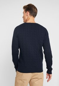 GANT - CABLE CREW - Neule - evening blue - 2