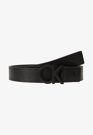 35MM BUCKLE PEBBLE - Cinturón - black