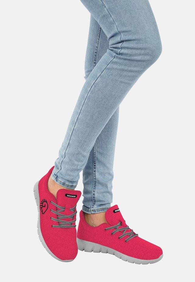 MERINO RUNNERS - Sneakers - pink
