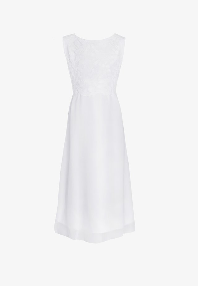 LENA SLIM FIT - Cocktail dress / Party dress - weiß