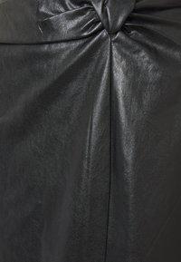 EDITED - SILVA - Jupe longue - black - 2
