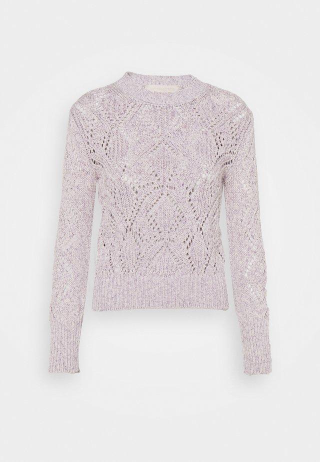 RIVIERA - Pullover - mauve