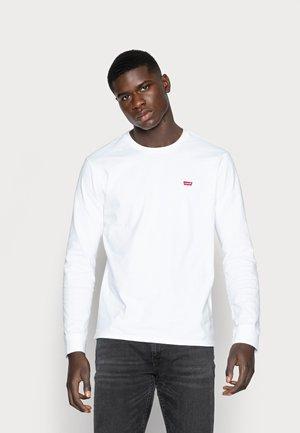 ORIGINAL TEE - T-shirt à manches longues - white