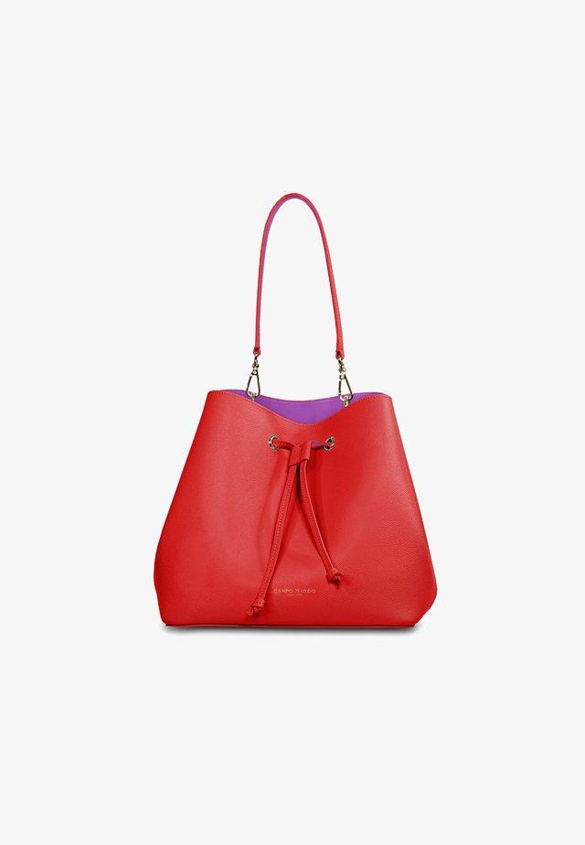Handbag - rosso scarlatto