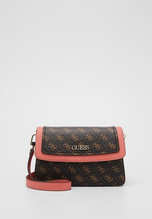 CAMY CROSSBODY FLAP - Schoudertas - brown/multi