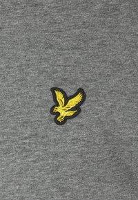Lyle & Scott - PLAIN - T-shirt - bas - mid grey marl - 2