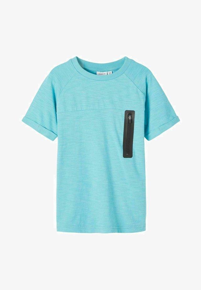 Camiseta estampada - aqua