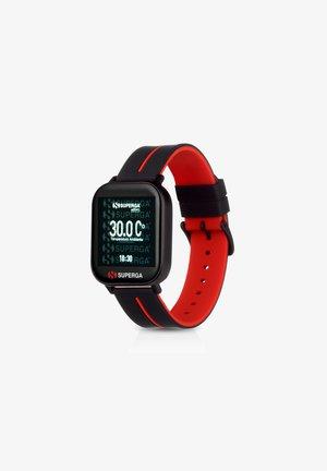 Smartwatch - black/red