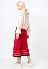 Ivko - Áčková sukně - rosewood - 4
