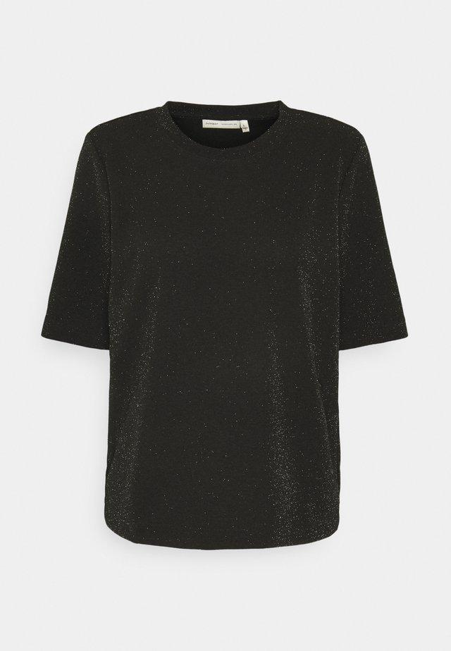 FLOYD - T-shirts med print - black