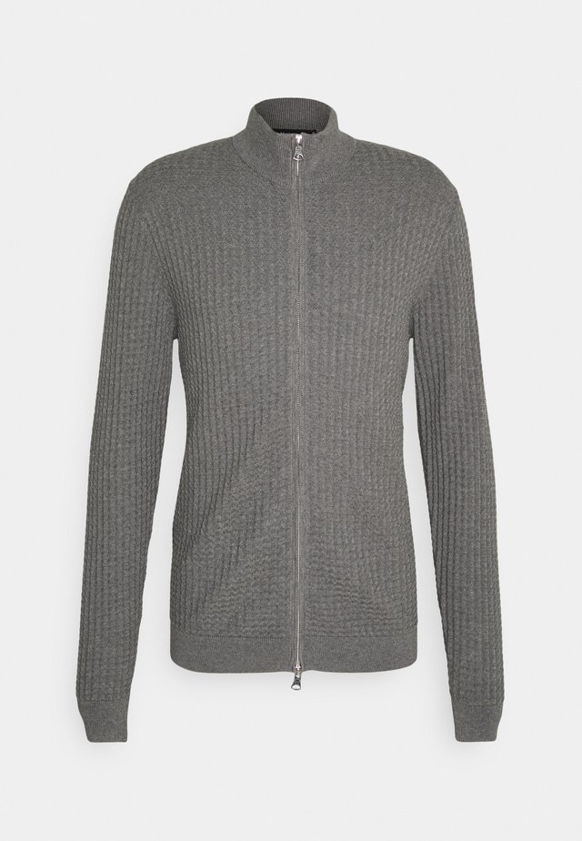 MACARDO - Strikjakke /Cardigans - medium grey melange