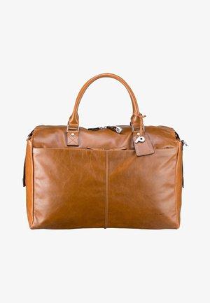 WEEKEND - Weekend bag - cognac