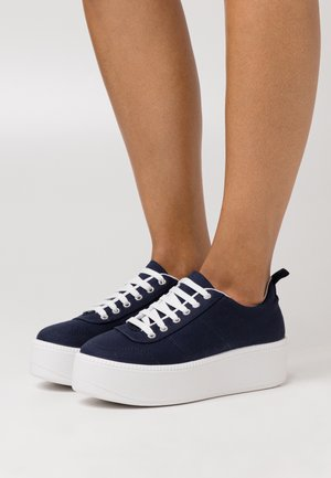 CHESTER LACE UP - Sneakers laag - navy