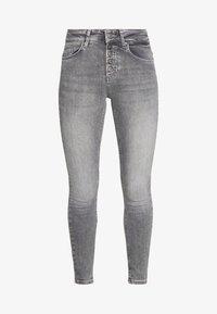 ONLY - ONLBLUSH BUTTON - Jeans Skinny Fit - medium grey denim - 3