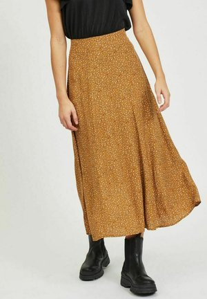 Maxi skirt - tapenade