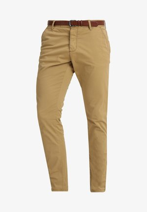 NELSON - Chino kalhoty - amber