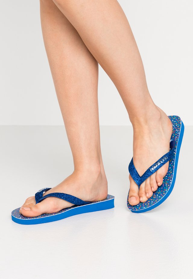 TOP CARNAVAL - Pool shoes - blue star