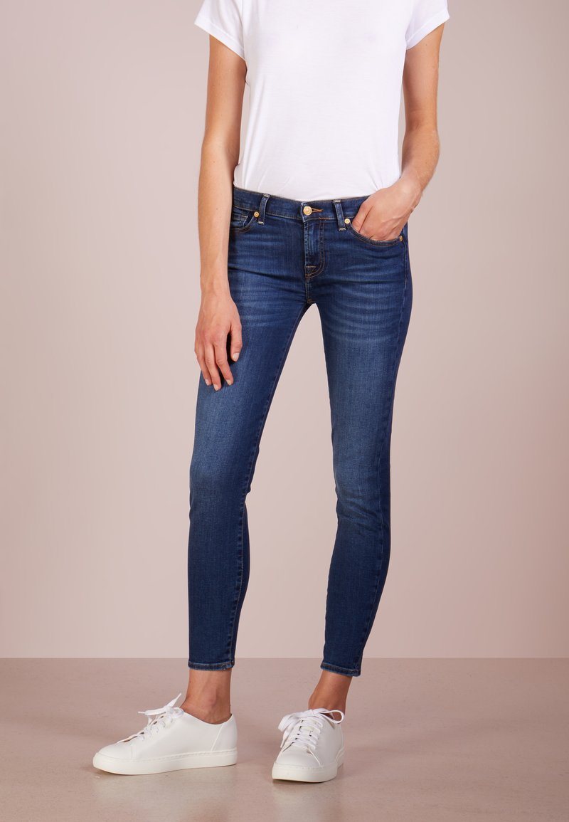 7 for all mankind - CROP - Jeans Skinny Fit - bair duchess