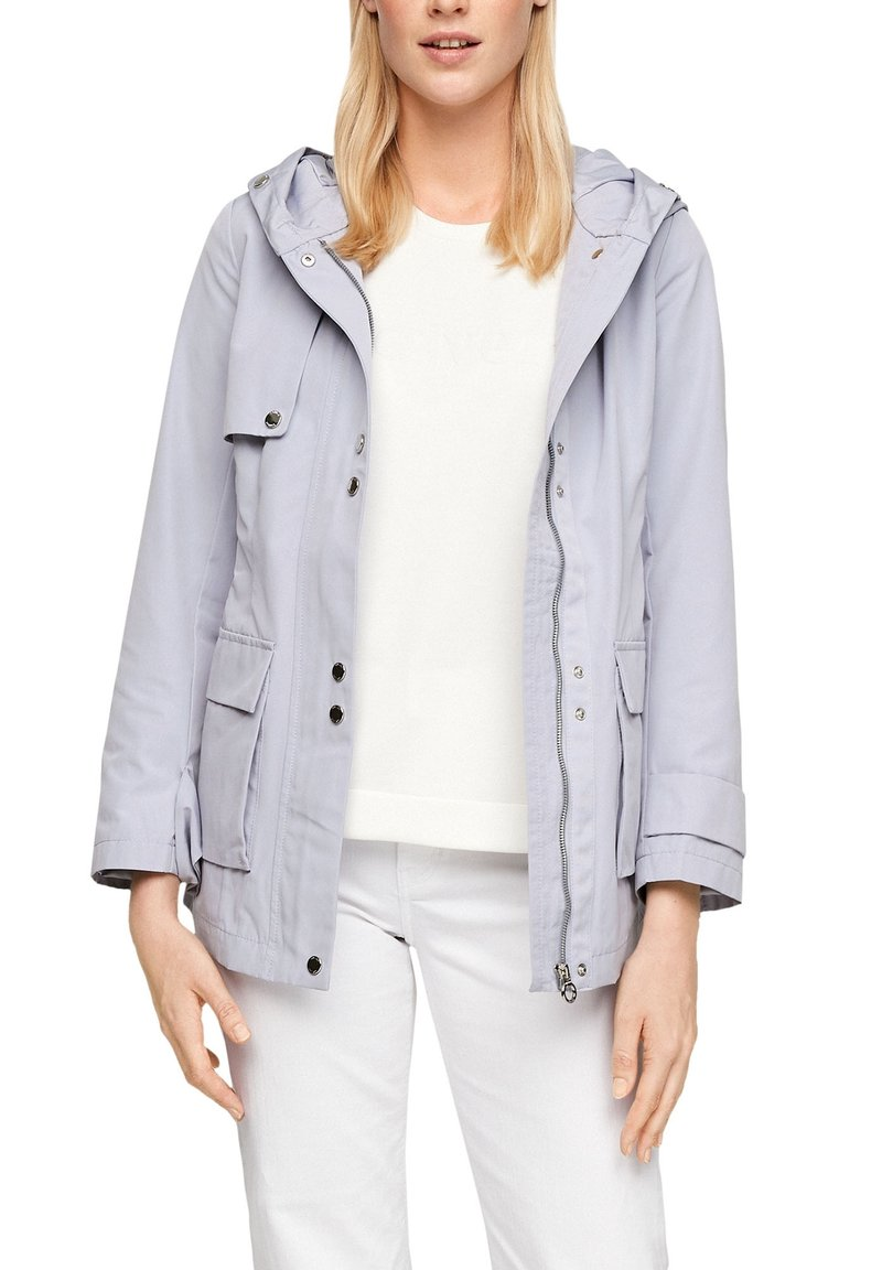s.Oliver - MIT NETZ-FUTTER - Waterproof jacket - lilac