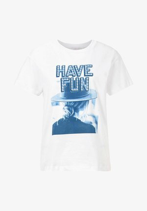 HAVE FUN - Print T-shirt - marine
