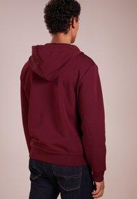 Polo Ralph Lauren - DOUBLE TECH - Zip-up hoodie - classic wine - 2