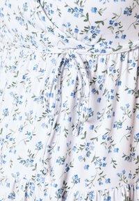 Hollister Co. - DRESS - Jerseykjole - white - 5