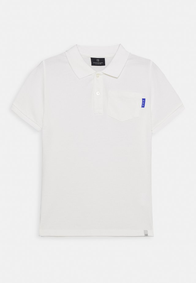 GARMENT DYED - Poloskjorter - off white