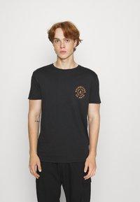 Quiksilver - CAUTIONARY TALE - Print T-shirt - black - 0