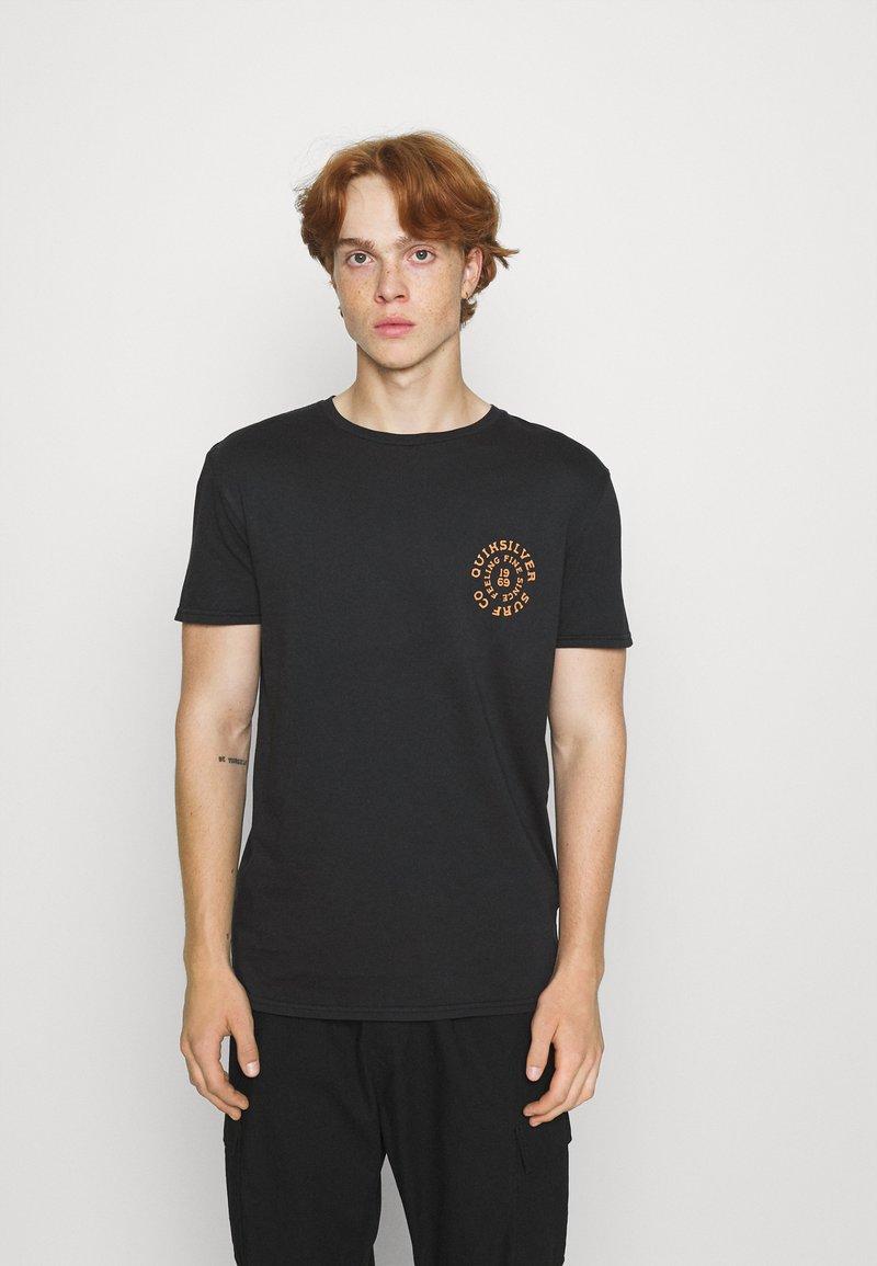 Quiksilver - CAUTIONARY TALE - Print T-shirt - black