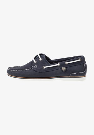 BOWLINE BOAT SHOE - Boat shoes - navy