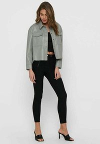 ONLY - Faux leather jacket - shadow - 1