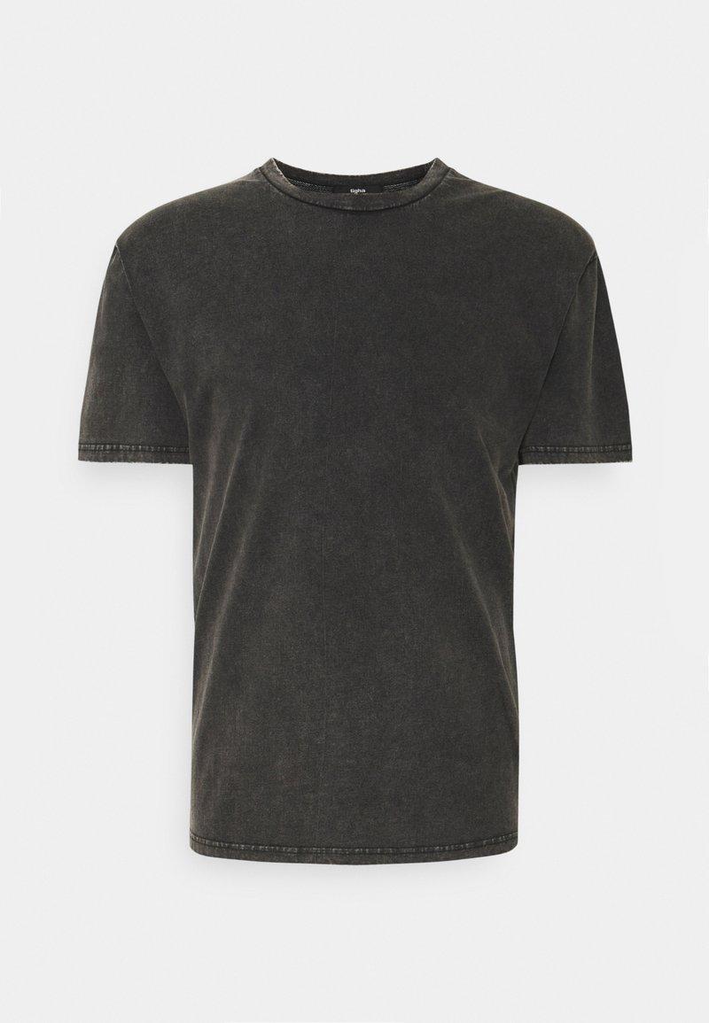 Tigha - SPIDER LESSIO - T-shirt med print - vintage black
