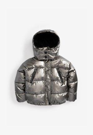 Winter jacket - metallic grey