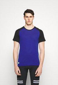 Mons Royale - TEMPLE TECH  - Jednoduché triko - ultra blue/black - 0