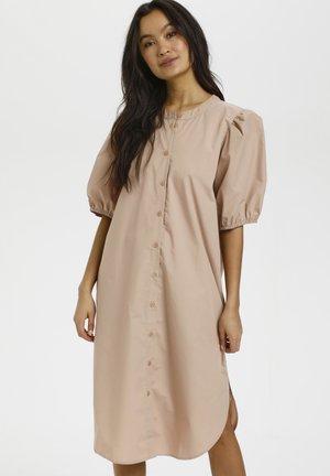 SUSANA - Shirt dress - beige