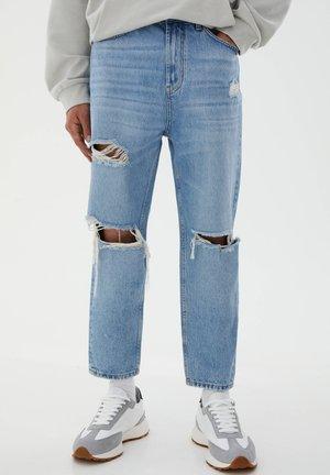 Jeans baggy - royal blue