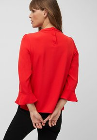 Next - HIGH NECK FLUTE SLEEVE - Blouse - red - 1