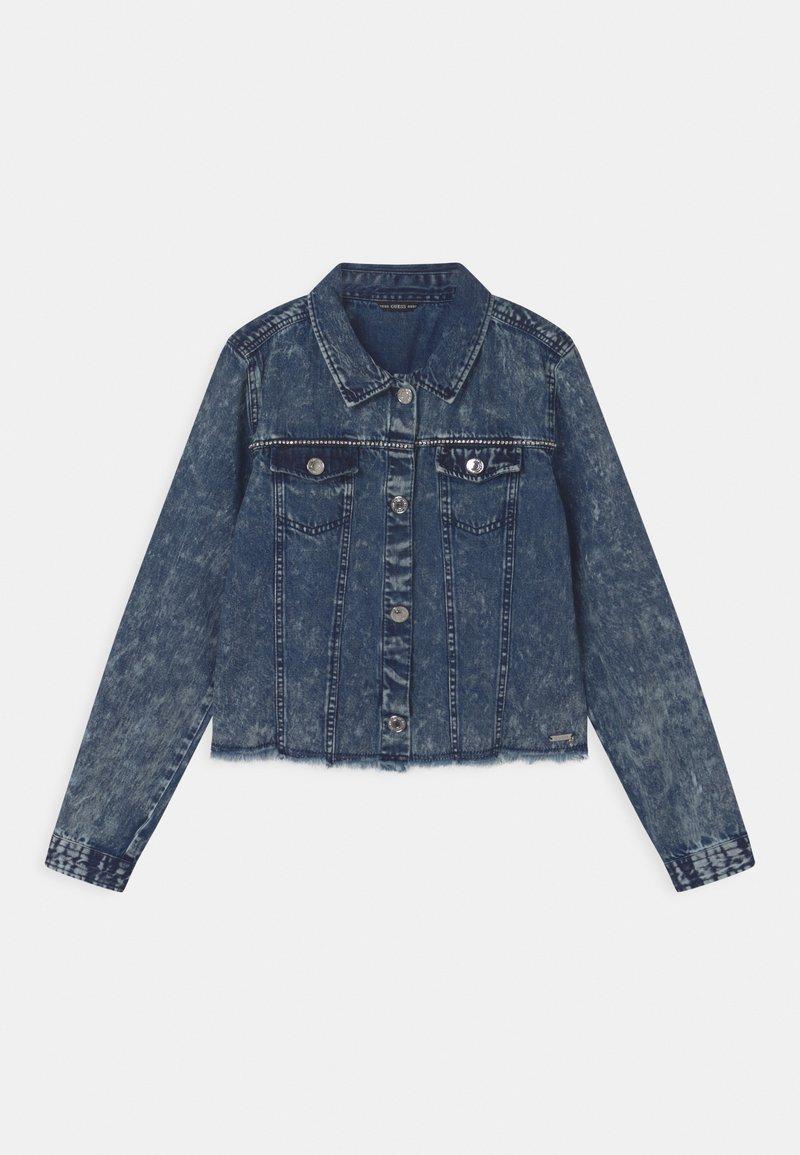 Guess - JUNIOR - Denim jacket - cloudy blue