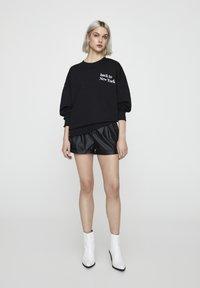PULL&BEAR - Sweatshirt - black - 1
