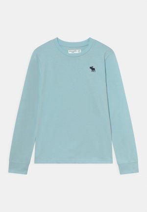 BASIC  - Bluzka z długim rękawem - blue