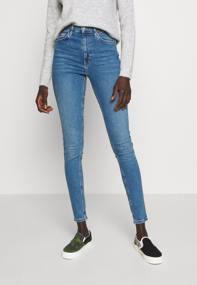 JAMIE CLEAN - Jeansy Skinny Fit - blue denim