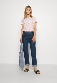 Levi's® - THE PERFECT TEE - Print T-shirt - sepia rose