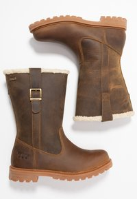 Barbour - CHOPWELL BOOT - Winter boots - umber - 3