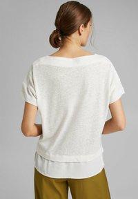 Esprit - Basic T-shirt - off white - 2