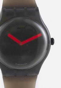 Swatch - BLUR UNSIEX - Watch - black - 4
