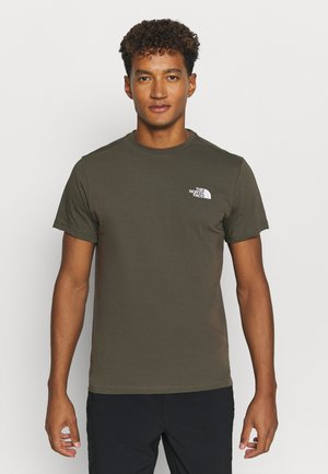 MENS SIMPLE DOME TEE - Basic T-shirt - new taupe green
