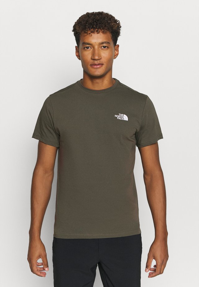 MENS SIMPLE DOME TEE - T-shirt basic - new taupe green