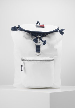 HERITAGE FLAP BACKPACK - Rucksack - white